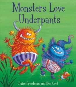 monsters love underpants book cover